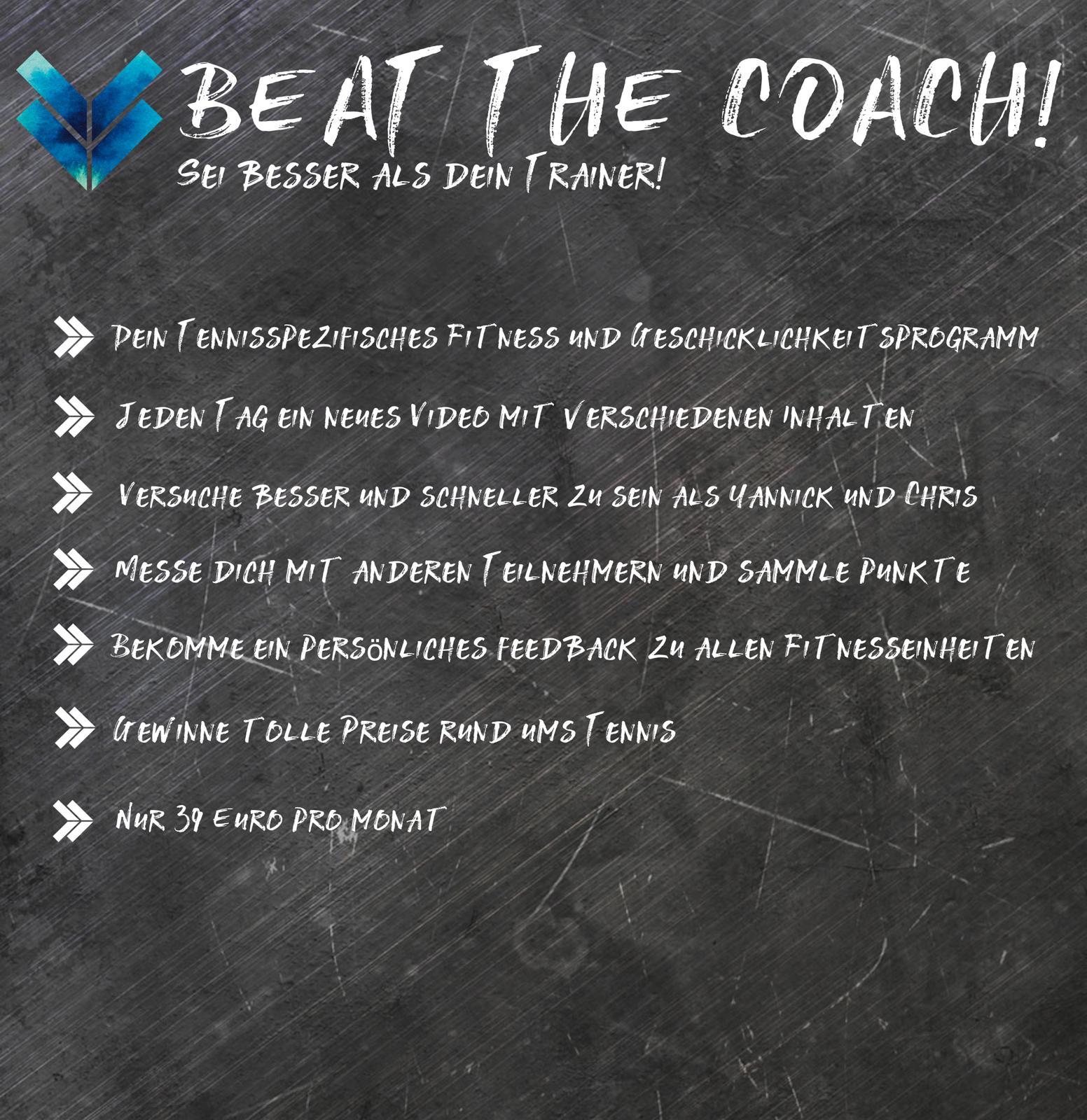 Beat The Coach! Deine Tägliche Fitness Challenge!